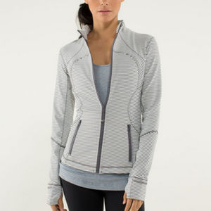Lululemon | Forme Jacket *Cuffins Hyper Stripe